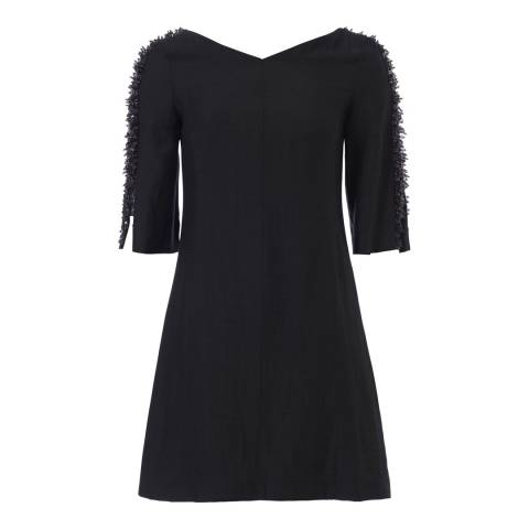 French Connection Black Dominica Dress