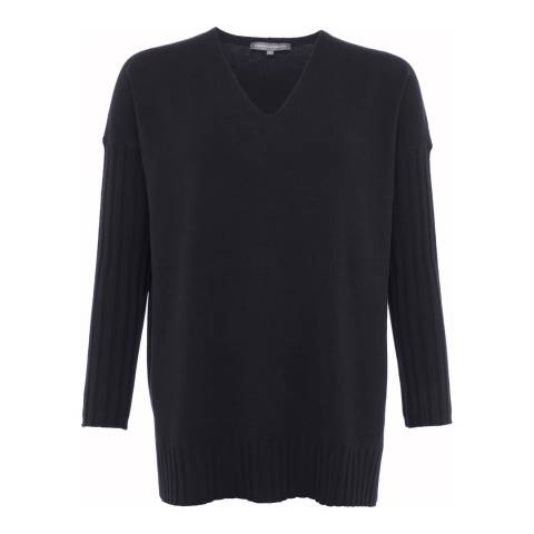 French Connection Black Jumper