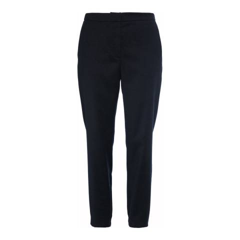 French Connection Solid Black Trousers