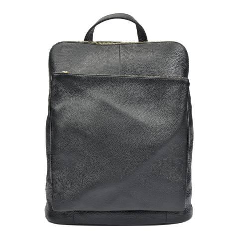 Isabella Rhea Black Leather Isabella Rhea Backpack