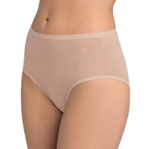 Triumph Smooth Skin Nude Cotton Basics Modern Maxi Briefs 2 Pack