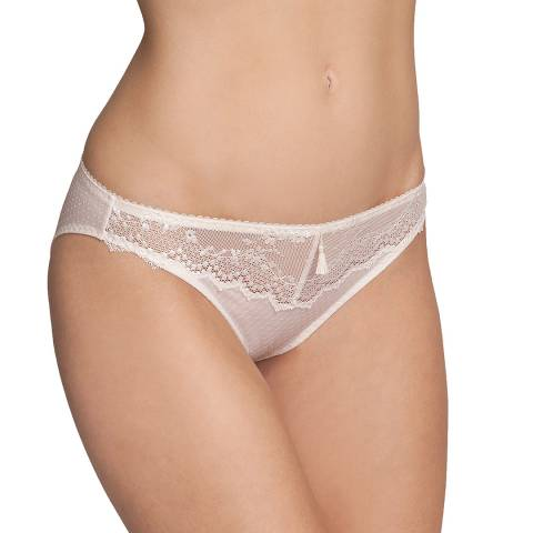 Triumph Angora Pink Elegant Angel Curves Tai Brief