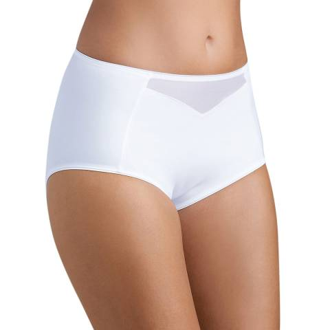 Triumph White Shape Sensation Maxi Brief