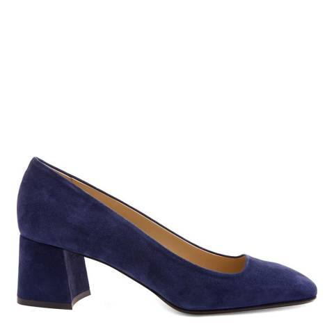 Hobbs London French Blue Suede Georgia Courts