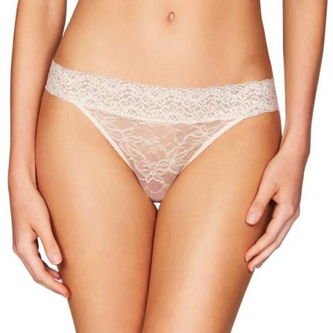 Heidi Klum Intimates Silver Peony Stretch Lace Bikini Brief
