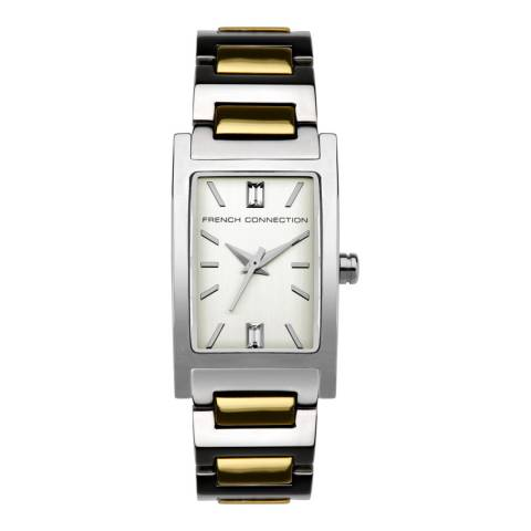 French Connection Champagne Bracelet Watch