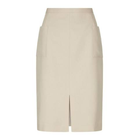 Hobbs London Beige Daisy Skirt
