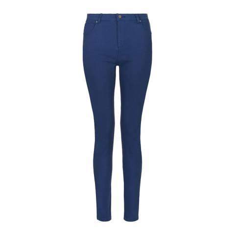Hobbs London Bright Blue Marianne Stretch Cotton Jeans