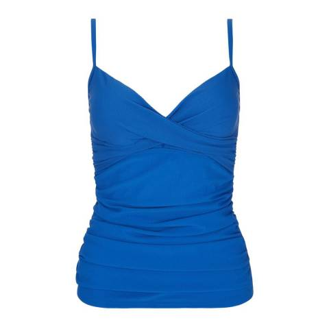 Hobbs London Blue Posey Tankini Top