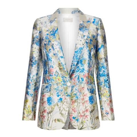 Hobbs London Multi Gardenia Blazer