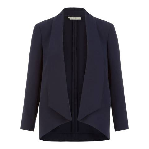 Hobbs London Navy Tess Jacket