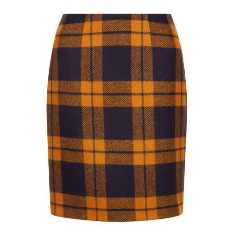 Hobbs London Orange Philippa Skirt