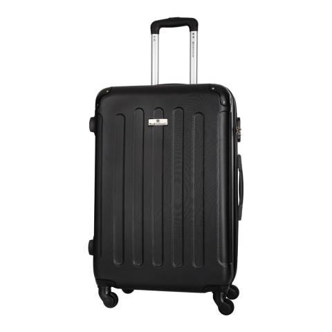 Platinium Black Allgood 4 Wheeled Suitcase 66cm