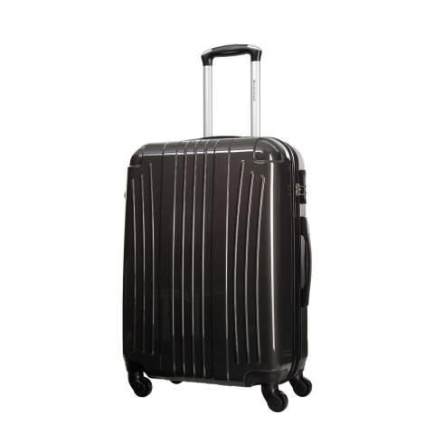 Platinium Grey Grimsby 4 Wheeled Suitcase 60cm