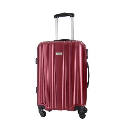 Platinium Bordeaux Akina 4 Wheeled Suitcase 56cm
