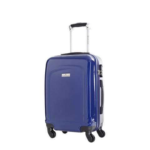 Platinium Marine Blue Clarks 4 Wheeled Suitcase 50cm