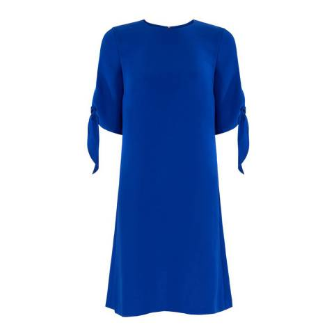 Hobbs London Blue Anita Dress