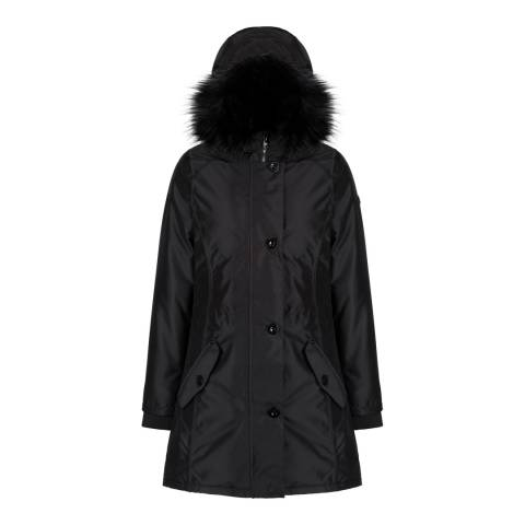 Regatta Black Saffira Waterproof Insulated Jacket