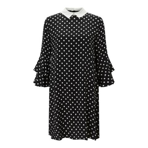 Baukjen  Black Cecile Collar Dress