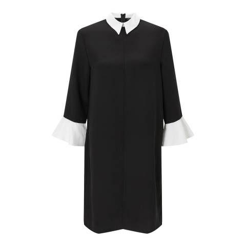 Baukjen Caviar Black Kiara Contrast Dress
