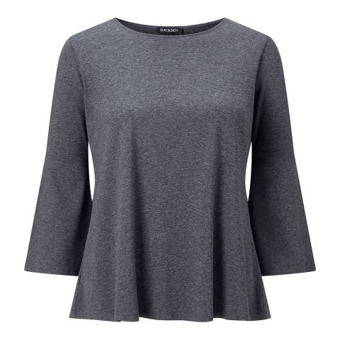 Baukjen Dark Grey Elsie Top