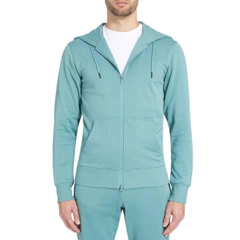 adidas Y-3 Turquoise Zip Sweatshirt