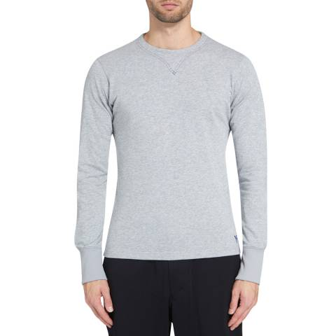 adidas Y-3 Grey Long Sleeve Sweatshirt