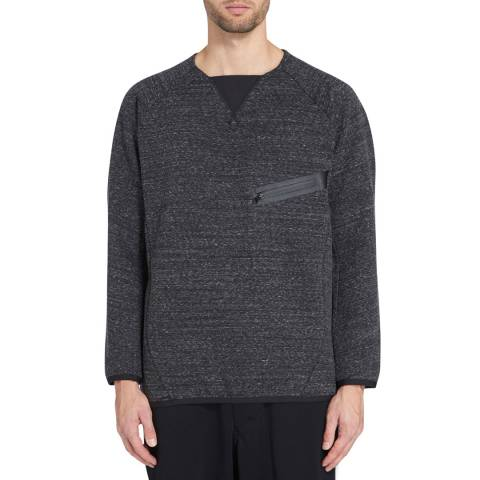 adidas Y-3 Dark Grey Future Crew Jumper