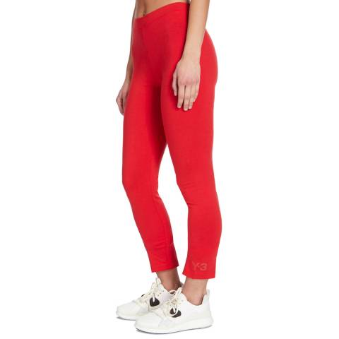 adidas Y-3 Red Jersey Legging