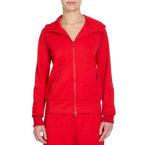 adidas Y-3 Red Zip Hoody