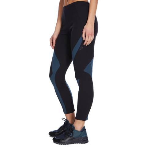 adidas Y-3 Black/Blue Jersey Legging