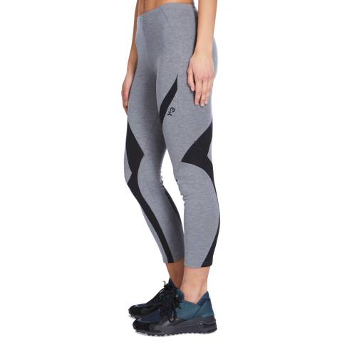 adidas Y-3 Grey/Black Jersey Legging