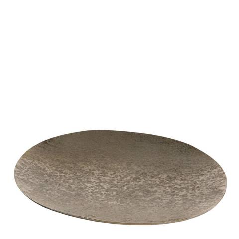 Gallery Gold Ember Oval Shallow Platter