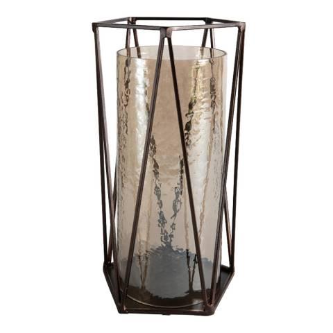 Gallery Copper Giotto Brown Lustre Lantern