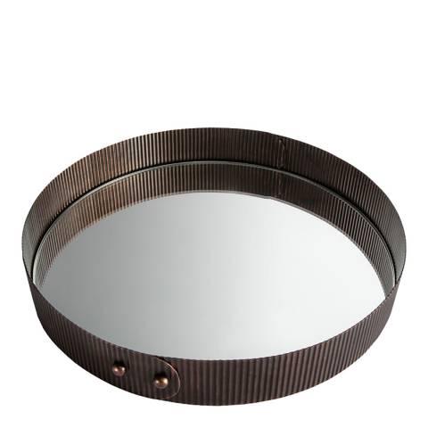 Gallery Copper Mendryk Antique Mirror Tray