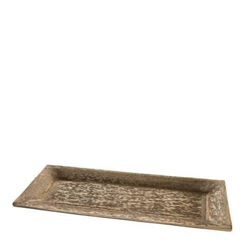 Gallery Gold Zella Rectangular Plate