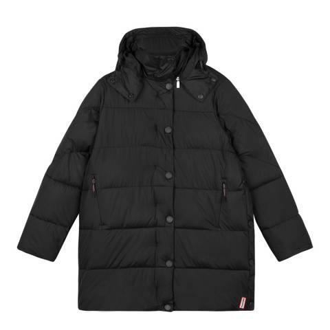 Hunter Black Original Puffer Coat