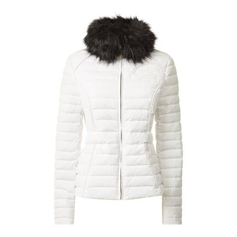 Hunter White Original Fitted Down Jacket