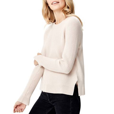 Manode Light Beige Cashmere Knitted Jumper