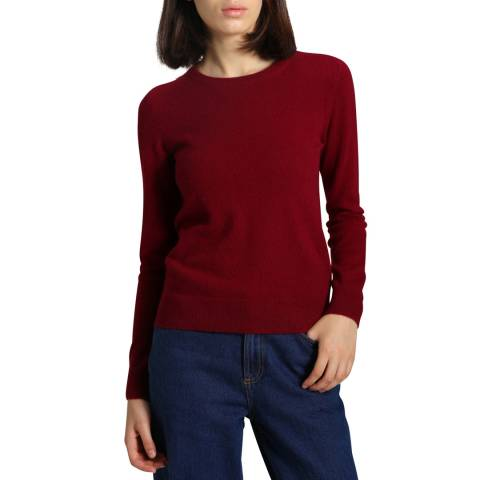 Manode Bordeaux Cashmere Knitted Jumper