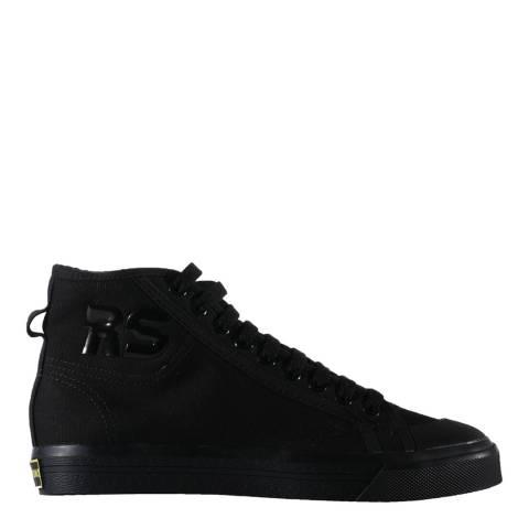 Adidas By Raf Simons Black Raf Simons Spirit High Sneakers