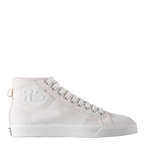Adidas By Raf Simons White Adidas Raf Simons Spirit High Sneakers