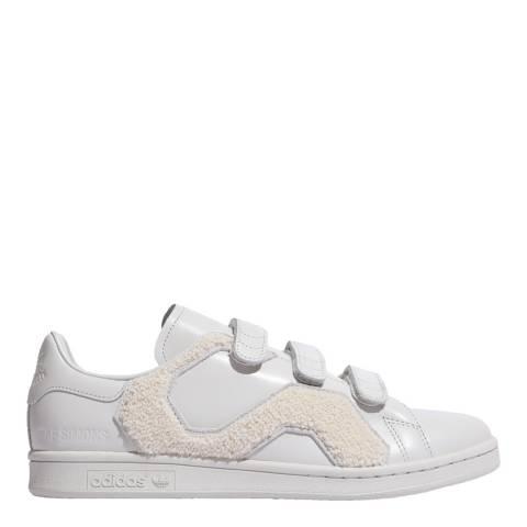 Adidas By Raf Simons Cream Raf Simons Stan Smith Comfort Badge Sneakers