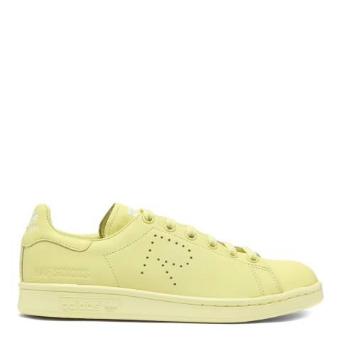Adidas By Raf Simons Pastel Yellow Raf Simons Stan Smith Sneaker