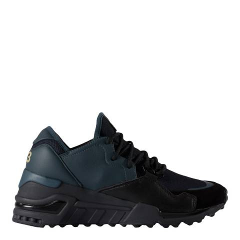 adidas Y-3 Navy Y-3 Wedge Sock Run Sneakers