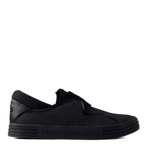 adidas Y-3 Black Y-3 Sunja Slip On Sneakers
