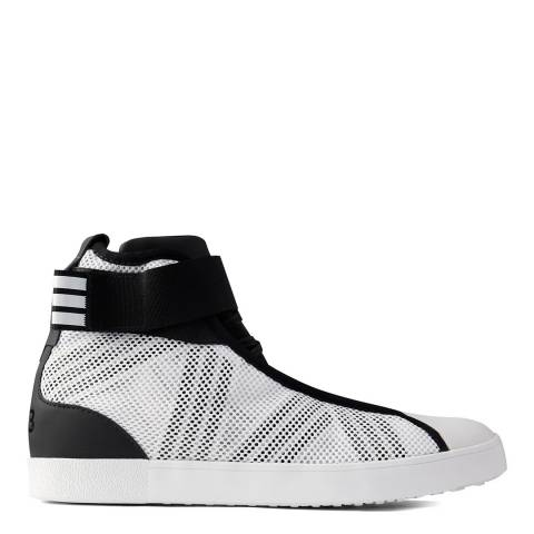 adidas Y-3 White Y-3 Loop Court Hi-Top Sneakers