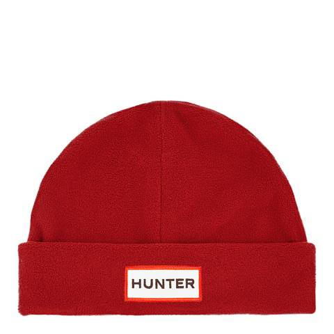 Hunter Military Red Original Fleece Hat
