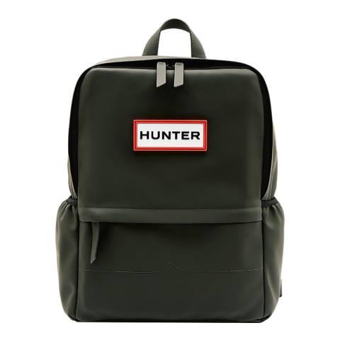 Hunter Dark Olive Original Rubberised Backpack
