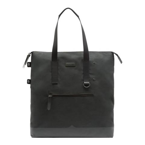 Hunter Dark Olive Canvas Moustache Tote